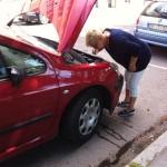 Mamma + bilen