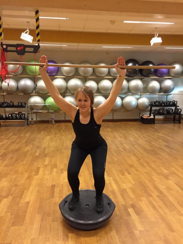 Gym funktionell träning