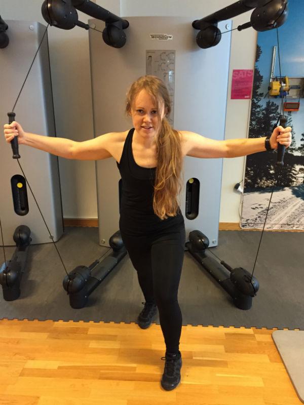 Gym intervallpass 2