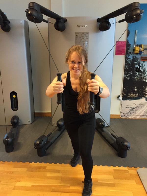 Gym intervallpass 3