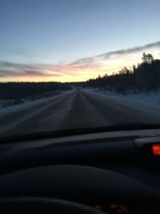 På väg till Sälen