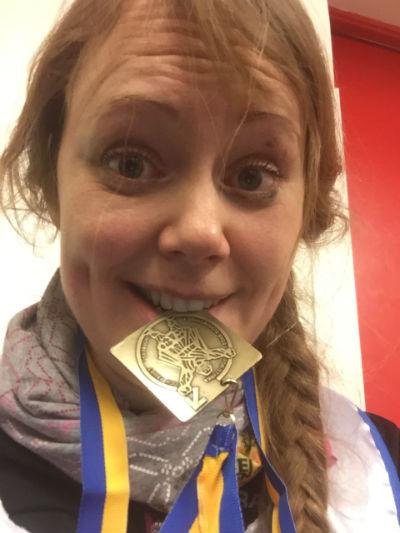 Engelbrektsloppet medalj