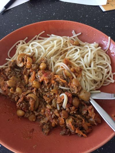 Uppladdning pasta