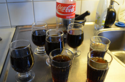 Projekt avkolsyra cola