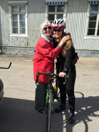 Farmor och jag i Munkfors