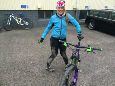 Mountainbike lite lerig 2