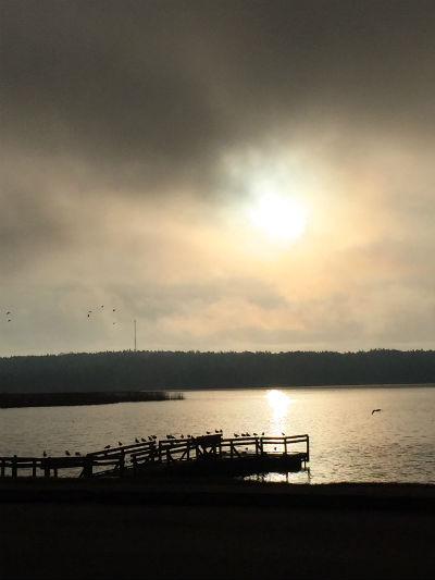 Majmorgon vid Kroppkärrssjön