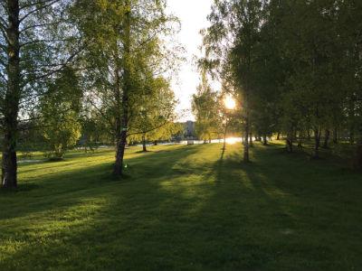 Vårkväll i Karlstad