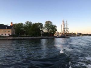 Vacker majkväll i Stockholm 2