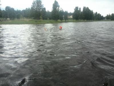 10. Bildbevis på att jag badar