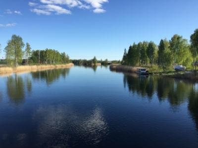 På bron till Örsholmen