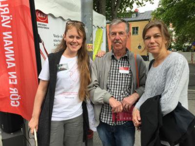 10. Sara, Verksamheteschef för Njurförbundet, och Anders, njurtransplanterad - Almedalen