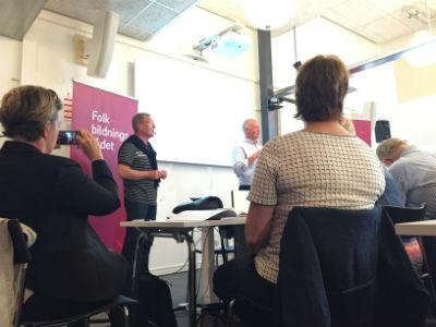 8. Presentation av rapport om ideellt engagemang - Almedalen