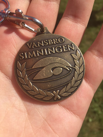 Medalj - Vansbrosimningen