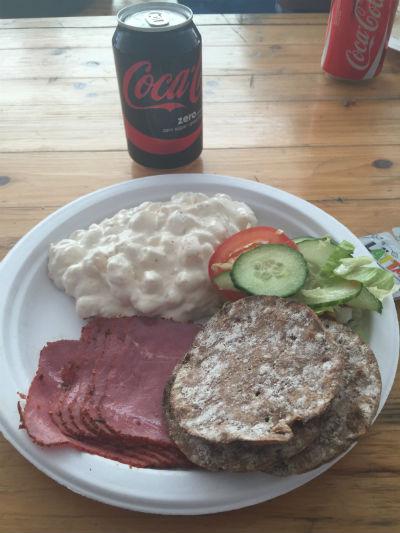 Middag efter Vansbro