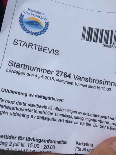 Startbevis! - Vansbro